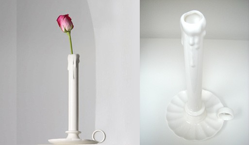 A Candle Stick Vase