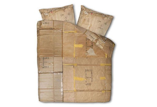 Le Clochard Home Cardboard Box Print Duvet