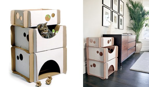 Cat Caboodle Cardboard Furniture