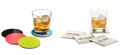 Drink and Disc Coasters