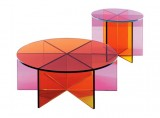 Clarity Color Glass Tables