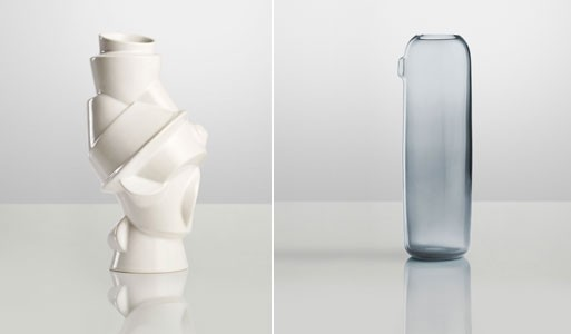 Closely Separated Vase & I'm Boo Carafe