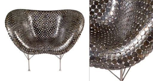 Coin Chair by Johnny Swing