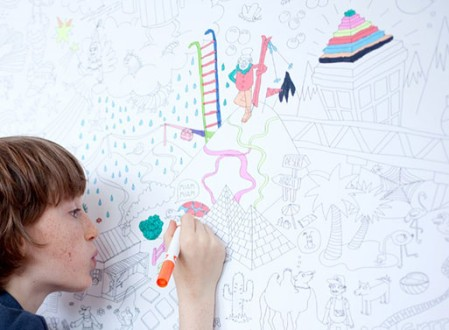 OMY Giant Coloring Page