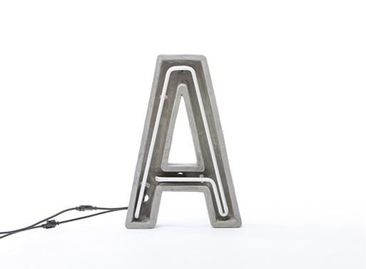 Alphacrete, Concrete Neon Light