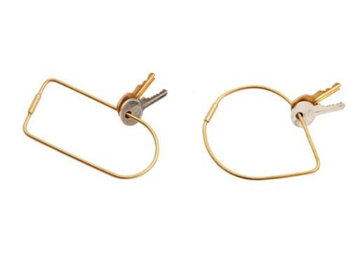 Contour Key Rings