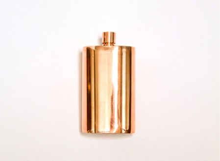 Solid Copper Flask