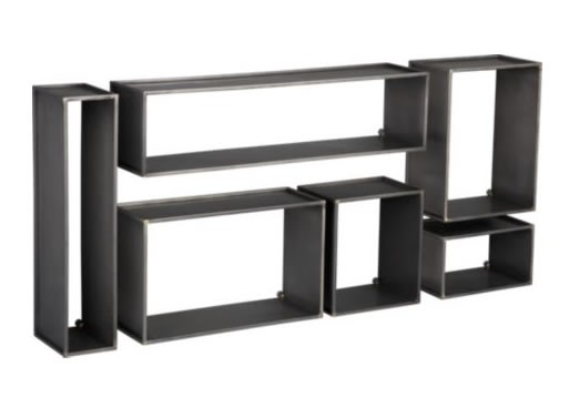 Cubist Wall Shelf