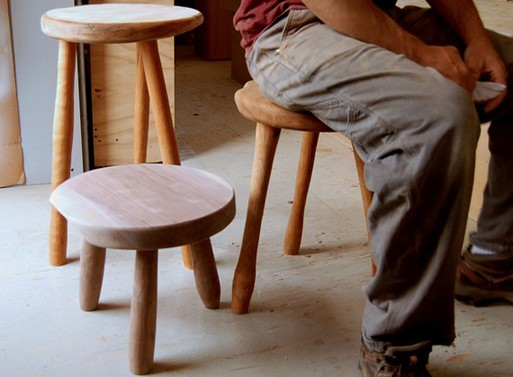 Milkmaid Stool Custom Furnishings Better Living Through Design