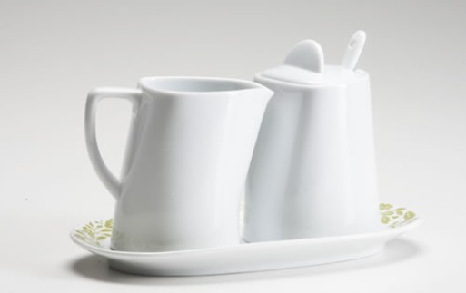 """Tea for Two"" Sugar and Creamer set"