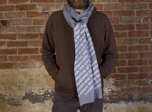 Definition Scarf Clothing Better Living Through Design