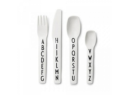 Design Letters Arne Jacobsen Kids Cutlery Set
