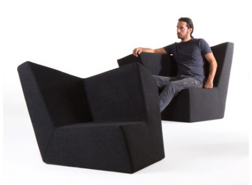 Ilio Black Diamond armchair