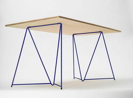Diamond Stackable Table Trestles