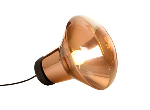 Tom Dixon Copper Blow Shade Lamp