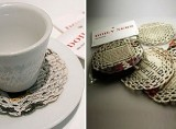 Doily News (coasters)