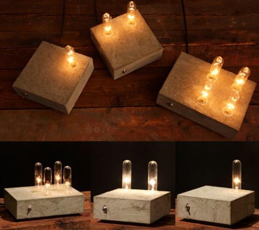 Domino Lamps