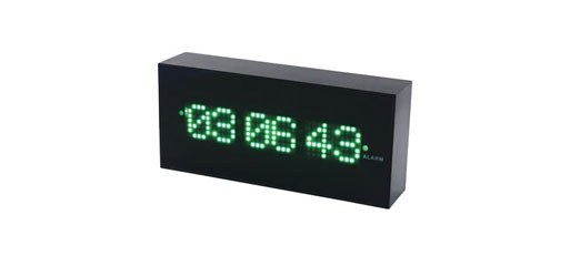 Dot Matrix Digital Alarm Clock By Kikkerland