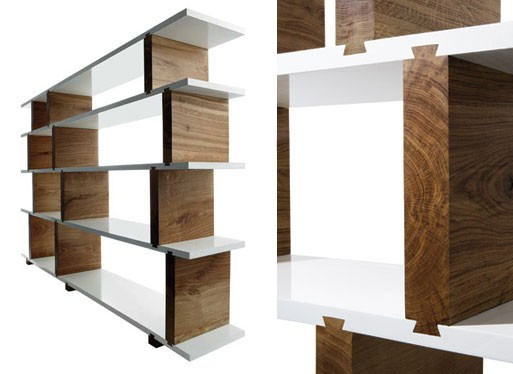 Dovetail Shelving Unit