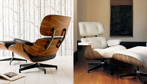Eames Lounge and Ottoman