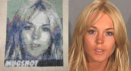 Embroidered Mugshots