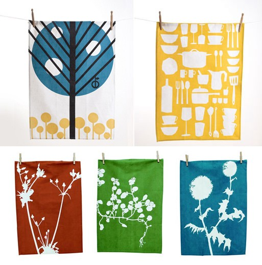 Ferm Living Tea Towels — ACCESSORIES -- Better Living Through Design