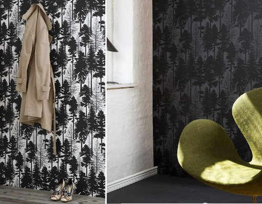 Ferm LIVING Fir Tree Wallpaper