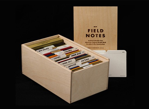 FieldNotes Archival Wooden Box