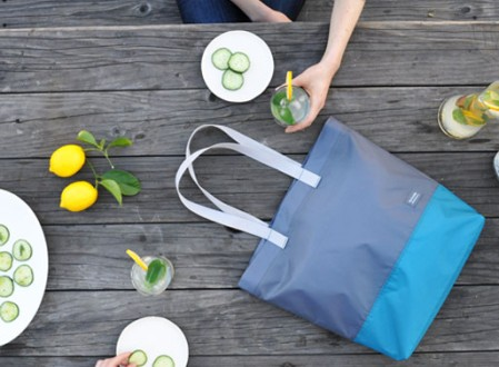 Flip and Tumble Tote Bag