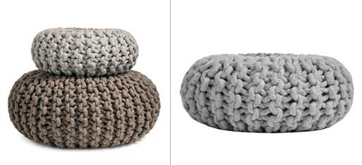 Flocks Pouf – Large and Medium