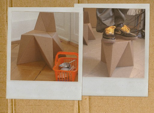 Foldschool DIY Cardboard Furniture