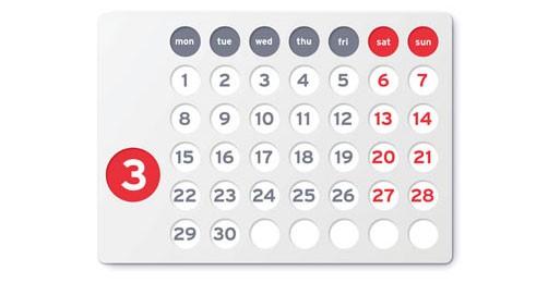 Futuro Perpetual Calendar