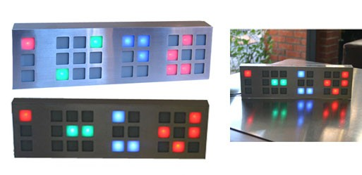 Galactic LED Clock