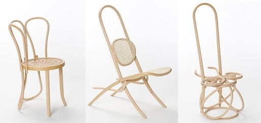 Gamper Bentwood Chairs