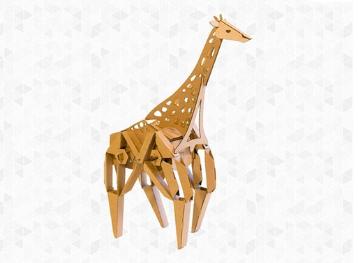 Geno the Giraffe Toy Kit