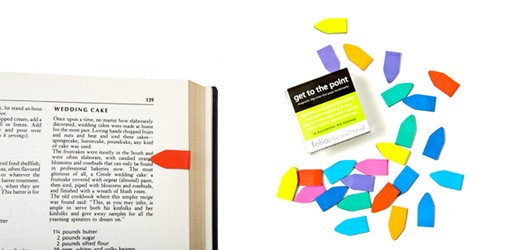 Get To The Points – Magnetic Slip-Over-the-Page Bookmarks