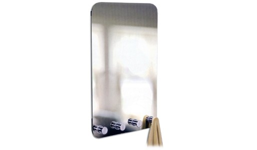 Glimpse Mirror with Pegs
