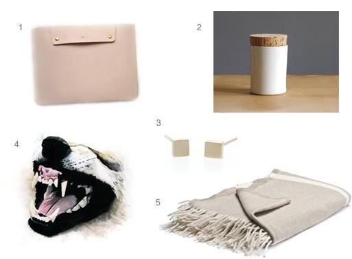 Kris Bernard Gift Ideas 2012
