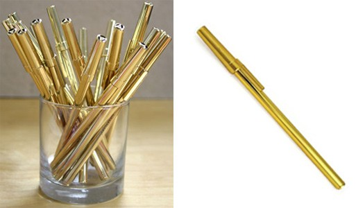 Solid Gold Pen Set