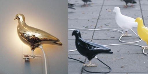 Gold Pigeon light