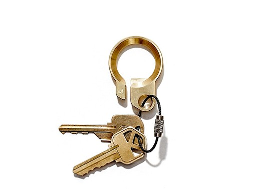 Grovemade Brass Key Ring