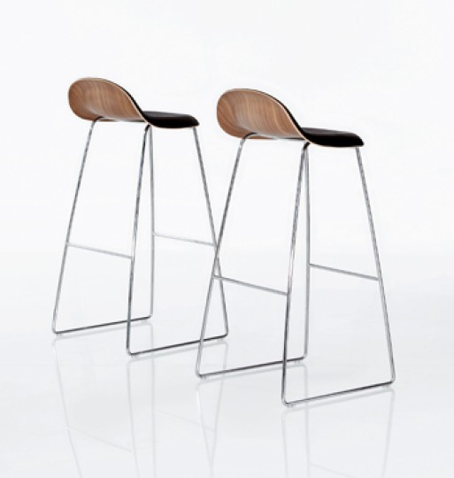 Gubi Stools Leather