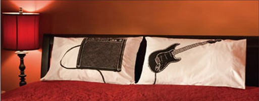 Guitar & Amp Pillowcases