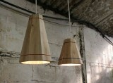 Recycled Wooden Pallet Hanging Lamp Shade