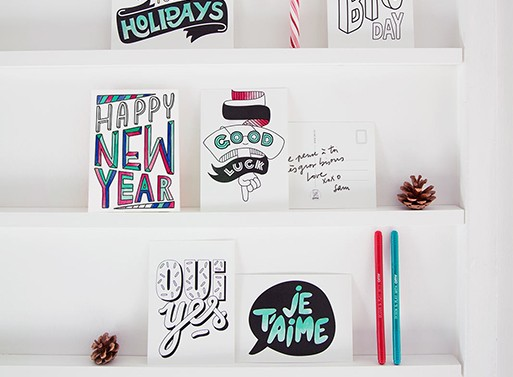 Happy Messages Postcards