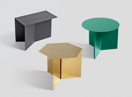 Slit Tables from Hay Studio