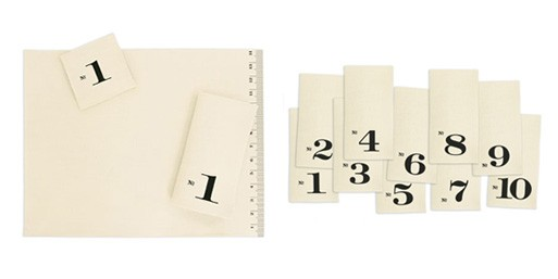 Numbered Edition Linens