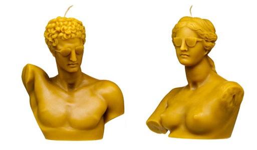 Hermaphrodite Candle Set