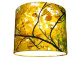 Hickory Silk Lampshade