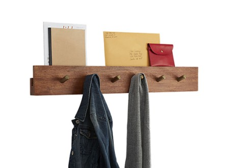 Hidden Channel Wall Coat Rack